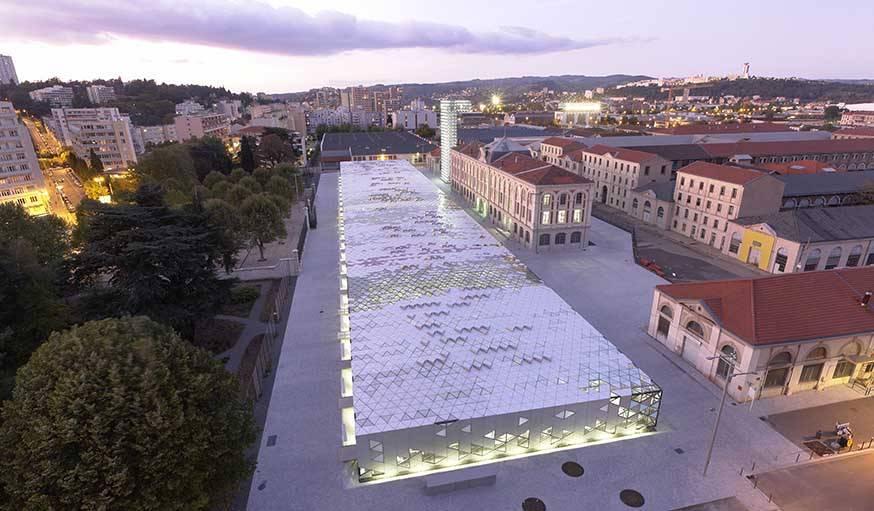La Cité du Design de Saint-Étienne.