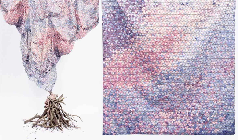 Mi-bois, mi-coton, des tissus d'ameublement incroyables