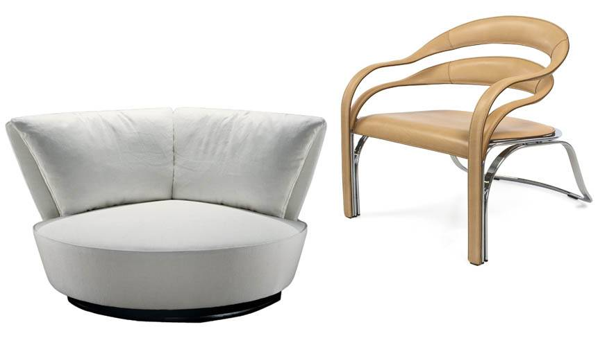La Ronde 54, 2006 / Fettuccini Chair, 1997.
