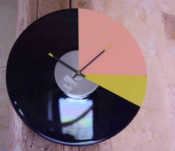 Diy Transformez Un Vinyle En Horloge Murale Deco Interieure Vintage 18h39 Fr