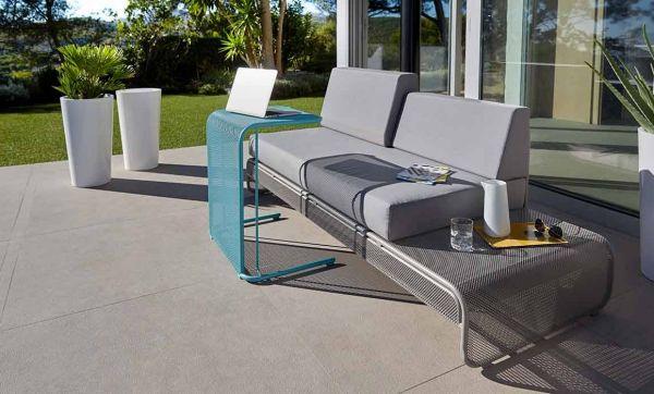 Un mobilier de jardin moderne et épuré