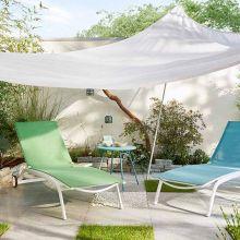 Mobilier d'été pour buller dans son jardin