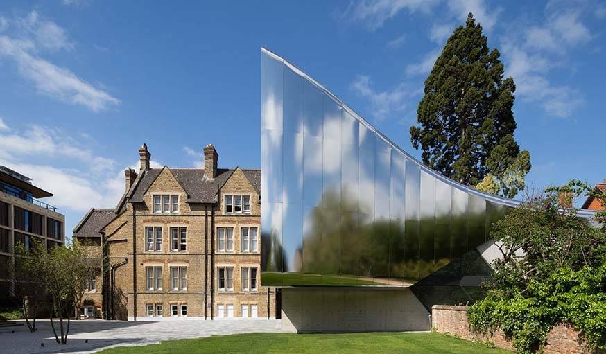 MEC Oxford University, par Zaha Hadid.