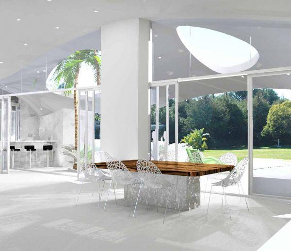 Des maisons d'architecte en béton à moindre coût