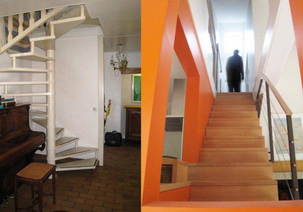 Maison traditionnelle rénovée en maison d\'architecte moderne ...