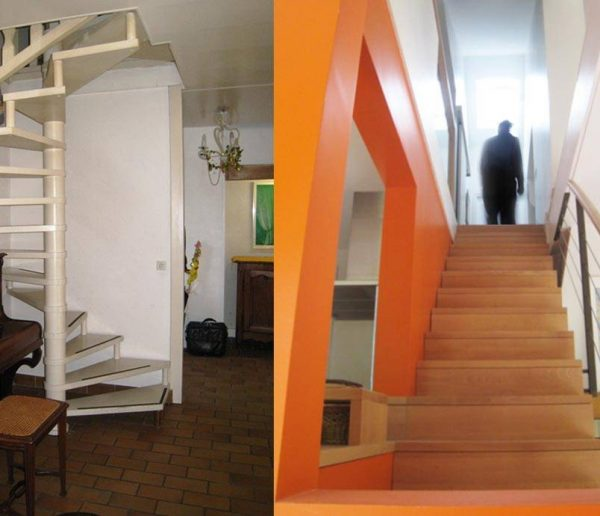 Avant / Après :  demeure traditionnelle transformée en maison d'architecte