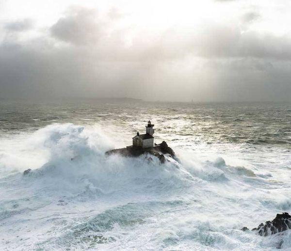 Vivre deux mois dans un phare au milieu de l'océan
