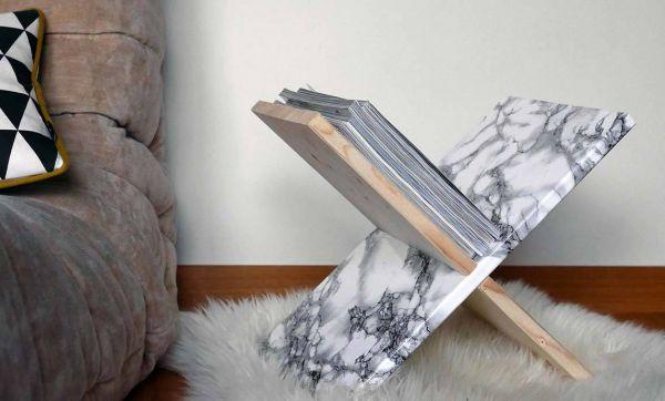 DIY : Porte-revues multifacette pour jouer avec sa déco