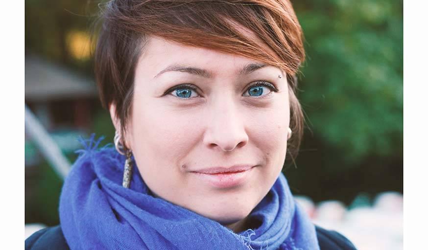 Véronic, la fondatrice de Pirouette, voudrait trouver un espace pour organiser des ateliers d'upcycling.