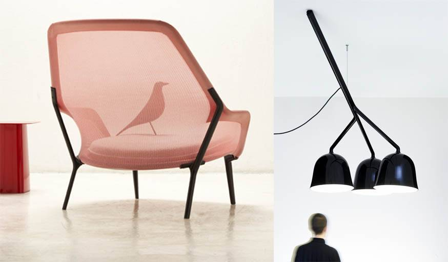 Slow chair / Black light.