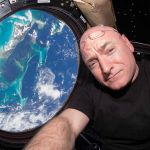 Scott Kelly a passé 340 à bord de la station spatiale internationale.