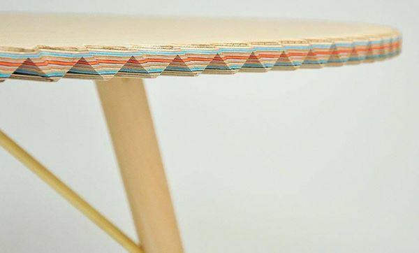 Une table scandinave inspirée par un réfugié syrien