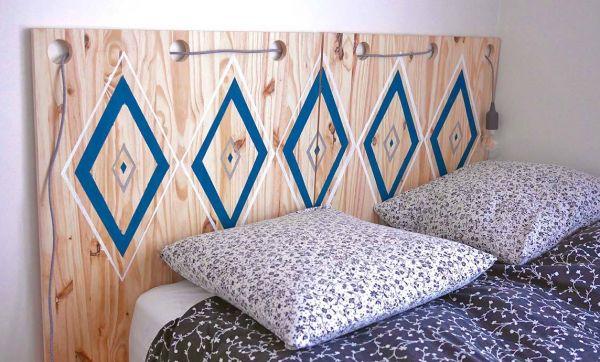 DIY : une tête de lit originale à faire soi-même