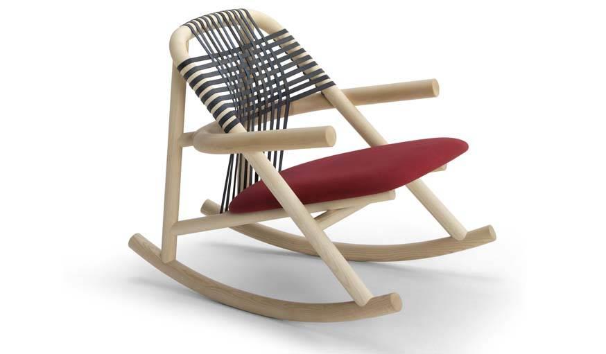 Rocking chair Unam.