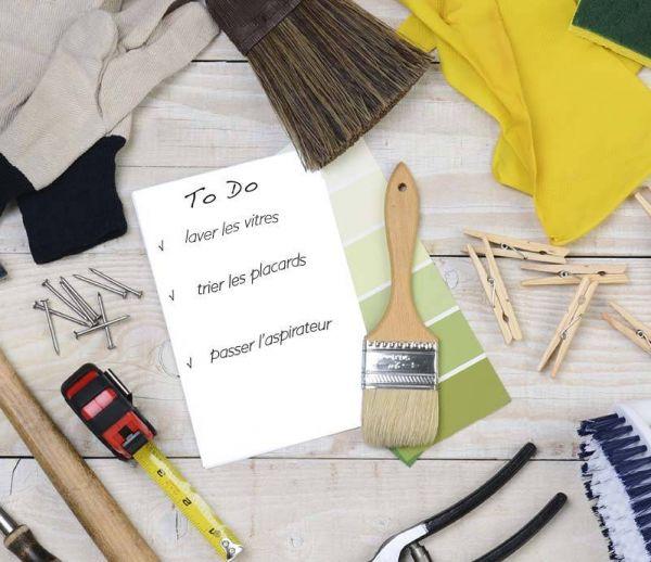 Votre calendrier du ménage