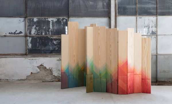 Des planches tie and dye
