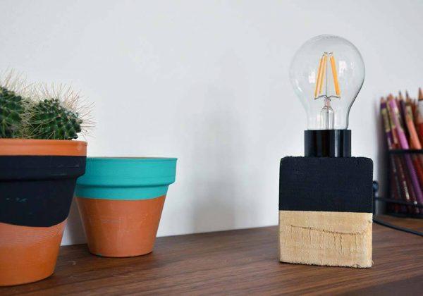 Tutoriel Diy Fabriquer Une Lampe Avec Des Palettes 18h39 Fr