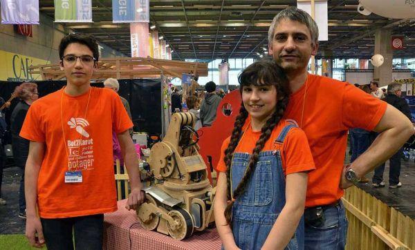 À la Maker Faire Paris, on bricole pour le plaisir