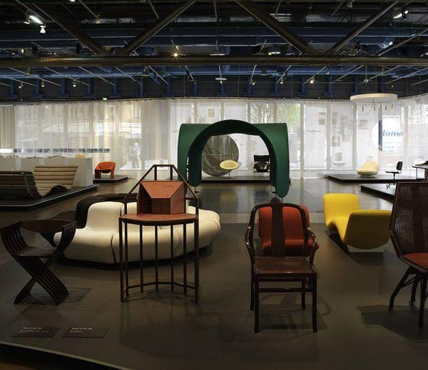 Grande rétrospective du designer Pierre Paulin à Pompidou