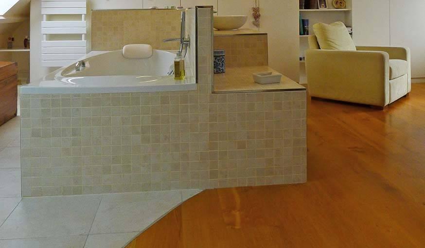 avant apr s baignoire lot et miroirs lumineux suite parentale design. Black Bedroom Furniture Sets. Home Design Ideas