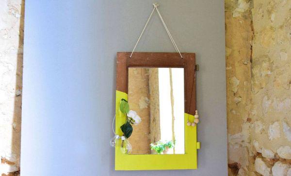DIY : transformer une fenêtre en miroir