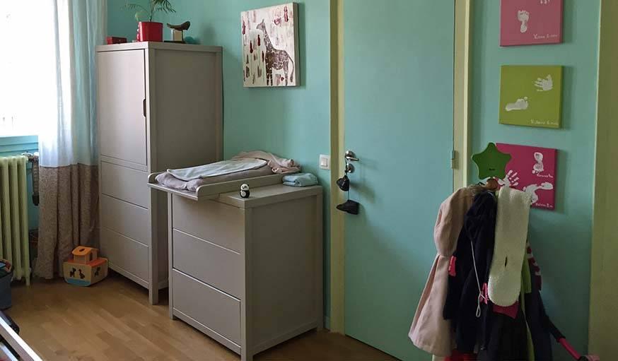 La chambre avant.