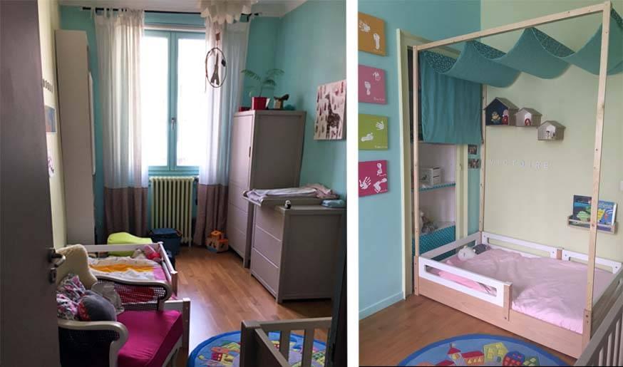 Avant / Après : optimiser une chambre partagée
