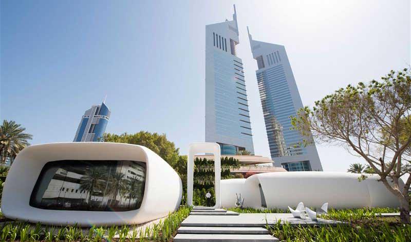Les premiers bureaux imprimés en 3D à Dubaï