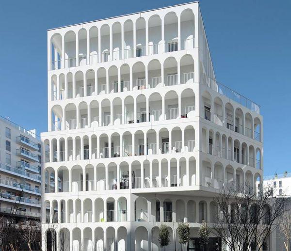 Un immeuble en hommage aux anciennes usines Renault