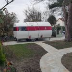 3X est une caravane qui passe de 4 à 12m2 en un clin d'oeil