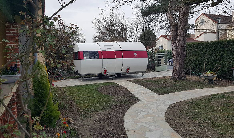 Une caravane extensible en un clin d'œil