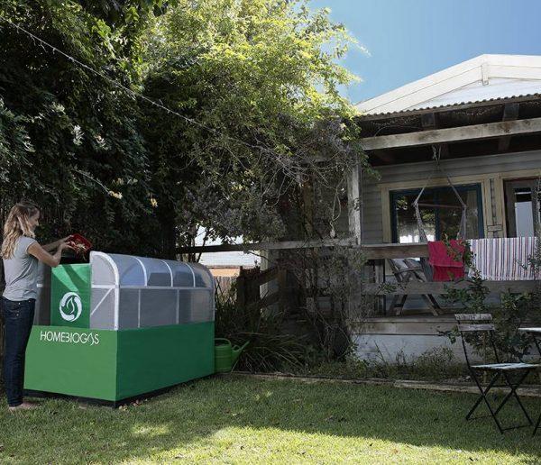 Transformer ses propres déchets en gaz domestique