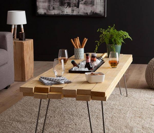 DIY : Fabriquer une table basse avec bac à glaces intégré