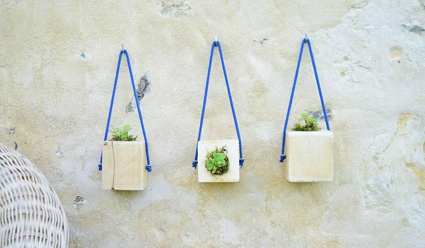 Fabriquez des pots à succulentes en palette