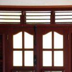 Les maisons de Martinique sont construite avec des fenêtres sans vitre.