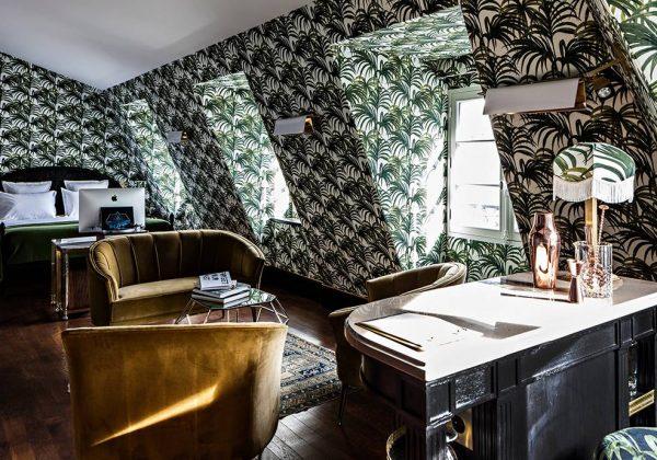 Inspiration Déco : La Jungle Du Sol Au Plafond