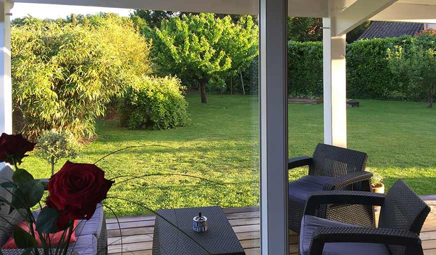 Soleil tardif dans un jardin en Haute-Garonne, le 22 mai.