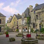 Rochefort-en-Terre (Bretagne), élu village préféré des Français 2016.