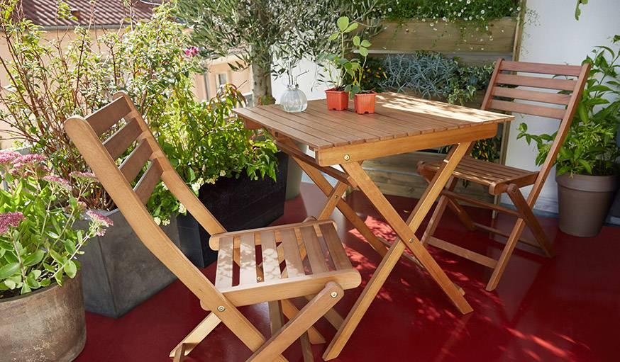 Mobilier de jardin BLOOMA Angélina
