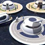 Trois U.F.Os en projet 3D