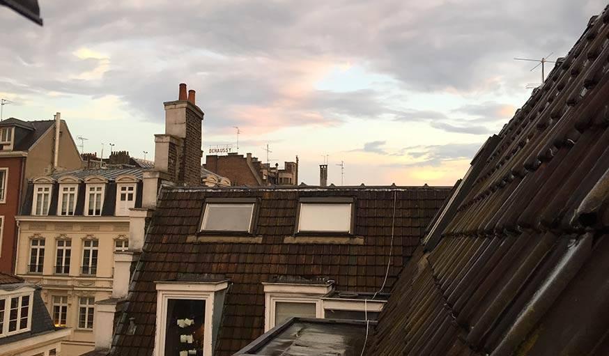 Les toits de Lille.
