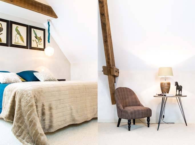 Un mobilier minimaliste mais coordonné.