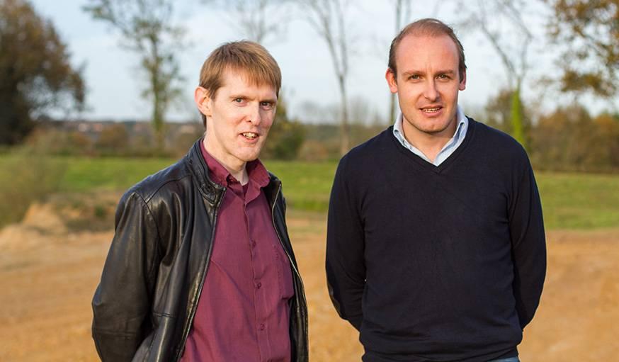 David Hoffmann et Julien Blanchard, créateurs de la technologie HP2A.