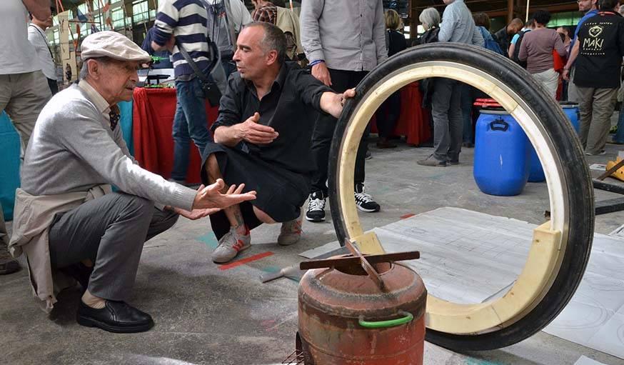 La roue sans axe, métaphore de la révolution maker
