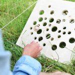 Fabriquez le jeu du gruyère, un jeu d'adresse pour petits et grands.