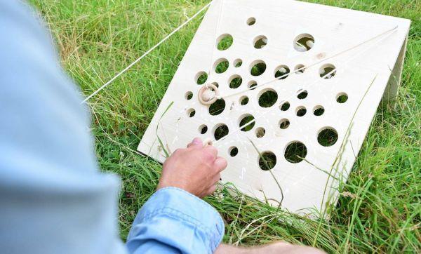 DIY : fabriquer le jeu du gruyère