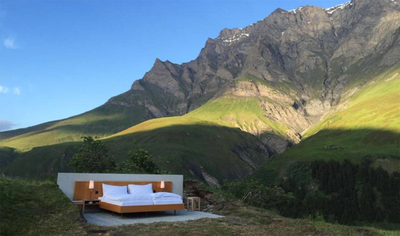 Prêt-e à dormir dans ce lit à la belle étoile ?