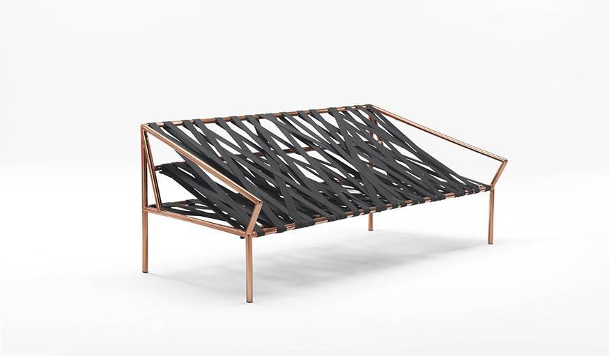 """Le canapé """"ligomancer"""" créé par le studio italiano-grec CTRLZAK pour JCP."""
