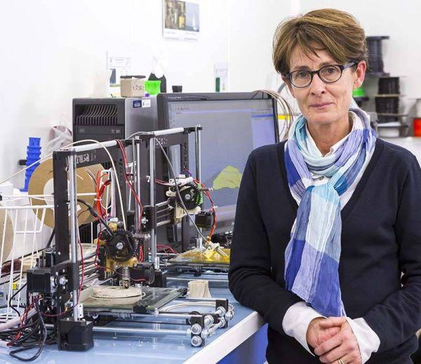 Imprimer en 3D grâce aux huîtres : le pari de Martine Le Lu