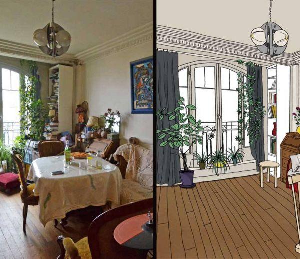 Désencombrer un appartement : cas pratique